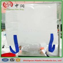 Precio de fábrica de alta calidad 1 tonelada pp cemento súper sacos, bolsas de embalaje de cemento