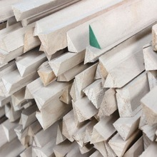 Paulownia Decorative Triangle Wood Strips for Construction Wood