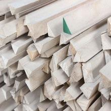 Павловния декоративный треугольник из деревянных реек для деревянного строительства