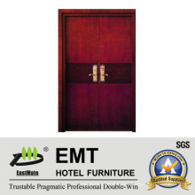 Puertas de dormitorio de madera del hotel de lujo (EMT-HD11)