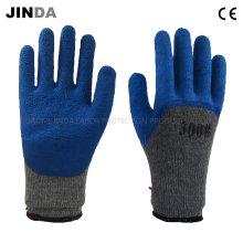 Латексные пена защитные рабочие защитные перчатки безопасности (LH101)
