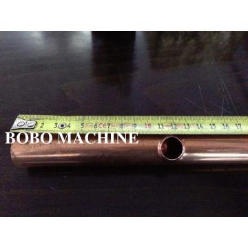 CNC tubo de cobre flauta perfuração e perfuradora