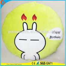 Hot Selling High Quality Novelty Design Christmas Gift Tuzki Rabbit Plush Pillow