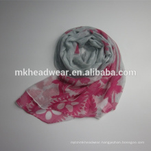 colorful 100 polyester scarf