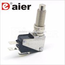 16a 125 / 250vac M12 tornillo micro interruptor de botón