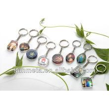 Porte-clés en cristal de sublimation