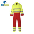 Flame Retardant safety Workwear dengan pita reflektif