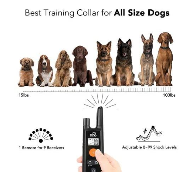 Waterproof Dog Bark Training Collar
