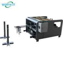 2021 Paper Product Making Machinery Double Station Twisted Paper Bag Handle Rope Making Machine