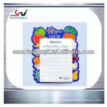 copper paper customized manufacture cheap fridge magnet