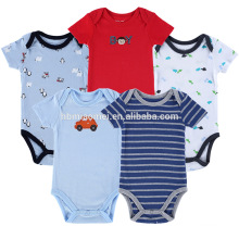 2017 hot sale infant bodysuits baby animal printing rompers baby clothes onesie baby boys romper