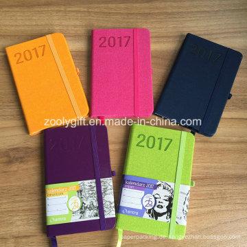Werbeartikel Neu 2017 Farbe PU Leder Agenda Planer Zeitschriften Notizbuch
