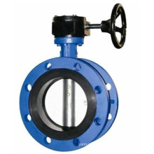 Disc Double Flange Butterfly Valve