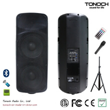 Dual 15 Inches Plastic PA Speaker for Model THR215UB