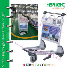 Aluminum Alloy Airport Cart, airport luggage trolley, airport trolley