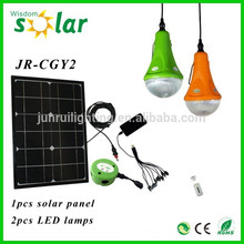 panel solar camping luces solares powered luces camping (JR-SL988)