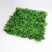 напольная искусственная зеленая стена из искусственного самшита венок