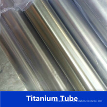 Seamless Gr2 tubo de acero inoxidable de titanio de fábrica de China