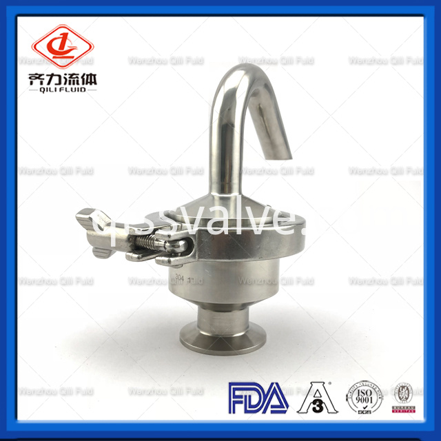 Sanitary Stainless Steel Air Release Valve 7