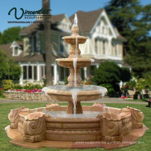 2018 New Carved Garden Marble Fountain Stone (Custom-Made Service)