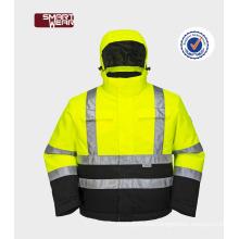 High visibility reflective safety work 3m reflective safety jacket