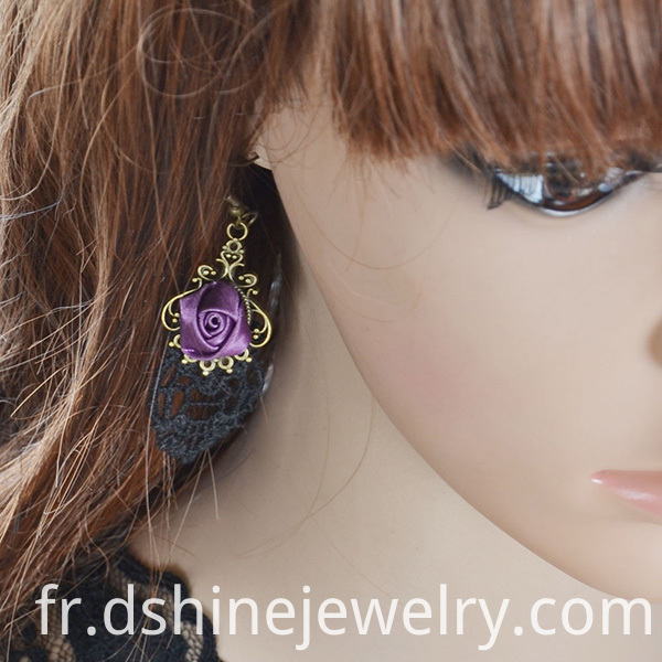 Lace Earrings Women Wholesale