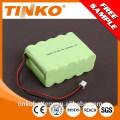 de shenzhen experimentó fabricante 12V NI-MH batería recargable tamaño AA de 1200mah