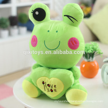 Hot Sale Funny Small Frog Doll Soft Toys Wholesale