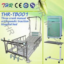 Lit de traction orthopédique manuel 3-Crank de l'hôpital (THR-TB001)