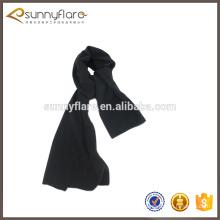 Bufanda barata llana al por mayor del invierno de la cachemira del color sólido para el hombre