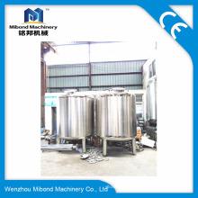 Нержавеющая сталь 5000L 316L Вертикальный резервуар для хранения оливкового масла