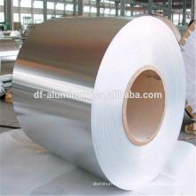 Emballage alimentaire feuille d'aluminium matière première gros rouleaux de papier aluminium