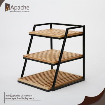 3-Tier Table Top Display Shelves for Supermarket