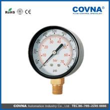 Medidor de presión normal con conexión posterior o inferior