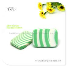 Latex naturel rond fabricant professionnel d'éponges
