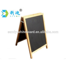 Factory direct wooden blackboard with stand