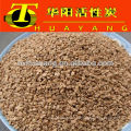 0.8-1.4mm walnut shell for water filtration/abarsive/polishing
