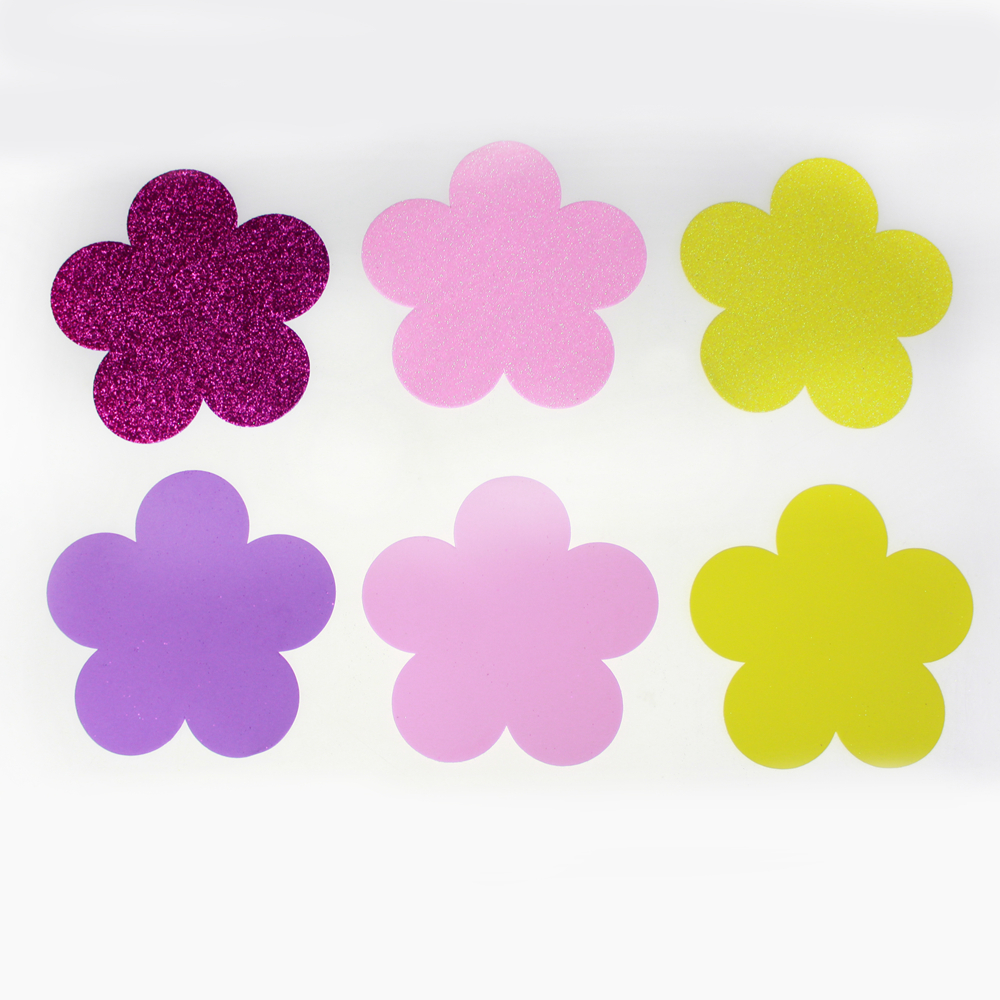 glitter Foam flower Die cut