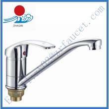 Brass Body Single Handle Kitchen Faucet (ZR20705-A)