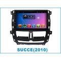 Reproductor de DVD de navegación GPS del sistema Android DVD para Succe 10,2 pulgadas con Bluetooth / WiFi / TV / MP4