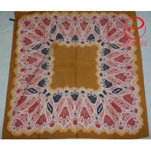 Paisley Design Soft Cotton Square Scarf