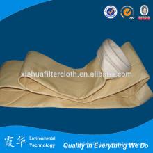 Asphalt plant bag filter for dust collection
