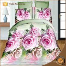 Israel flower printed bedding set ,3D printed bedding set