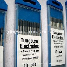 Eletrodo de tungstênio de cério para soldagem TIG