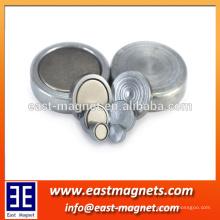 Neodym Magnet Töpfe Fabrik / ndfeb Magnet Töpfe mit Haken zum Verkauf