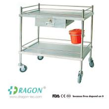 DW-TT206 Stainless Steel Hospital Trolley for Sale