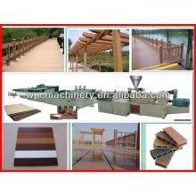 plastic wood manufacturing plant