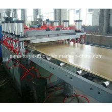 Линия по производству пластиковых картонных коробок из ПВХ / листового экструдера