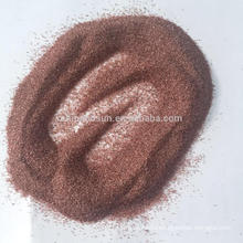 Горячая продажа розовый гранат, Речной гранат для пескоструйной и гидроабразивной резки