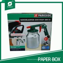 Caixa de embalagem de arma de Sandblaster de design personalizado de qualidade superior